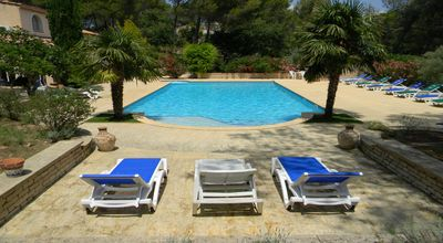 Photo for VILLA 8 PEOPLE WITH SWIMMING POOL IN PROVENCE LUBERON NEAR LOURMARIN