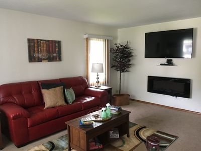Enjoy Wisconsin living. Super clean, fully equipped homes are our trademark