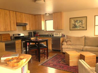 Photo for Cozy Modern Apartment ~ walking distance to Carbondale's restaurants/bars/sights