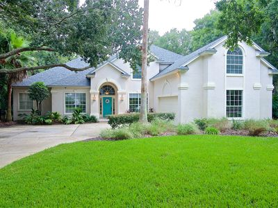 Photo for Charming furnished home with private and heated pool in Sawgrass Country Club