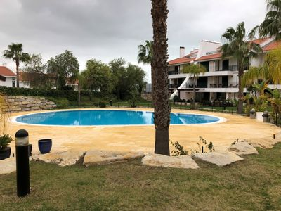 Photo for Luxury, spacious, two bedroom apartment on the Vill Sol Golf & Spa Resort