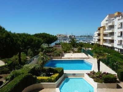 Photo for 2 bedroom apartment, cabin with garage in residence at Cap d'Agde