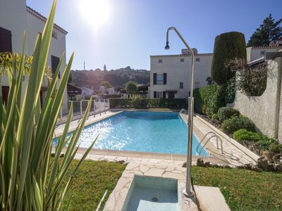 Photo for Cap d'Antibes- villa - 300 m sand beach - 6 pers / 3 bedrooms - Clim + WIFI