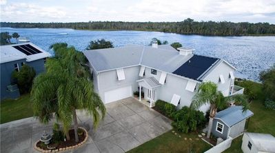 Photo for Million Dollar House and View on Main River. Holds 15. Pool, Dock, Kayaks.