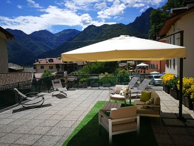 Photo for House with terrace and garden ideal for families for a relaxing holiday.