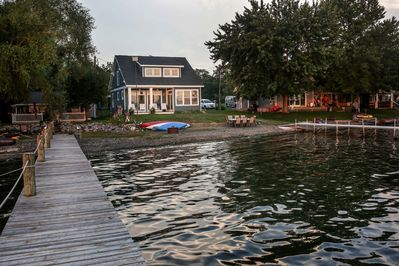 Amazing Level Lakefront with no steps!  Gradual lake depth ideal for kids
