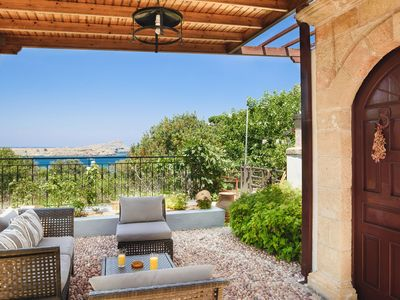 Photo for Sea View Villa Thea 4 in Rhodes | Lindos