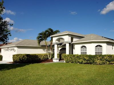 Photo for Wischis Florida Vacation Home - Sunny Lagoon in Cape Coral