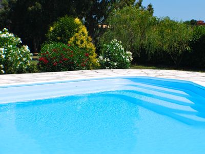 Photo for ★★★★★ Spacious Waterfront Villa near Rome/Private Pool/Airy Patio/Stunning Views