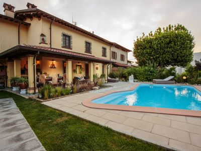 Photo for VILLA BEN, a Stylish Farmhouse with Private Pool and Amazing Views in Camaiore