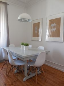 Photo for Set in a typical neighborhood of Lisbon is ideal for groups or families.