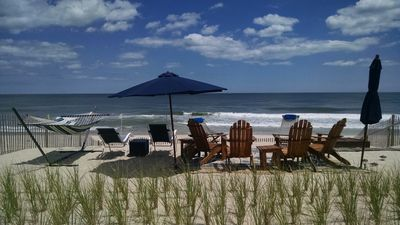 Photo for Oceanfront, Beautiful Home with Multiple Decks; Private Assn. Beach