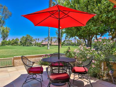 Photo for WOW! What a View!! Ground Floor Condo on 7th Fairway in Woodhaven Country Club