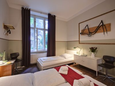 Photo for Large Apartment w/ two Bathrooms on Quiet Side Street in Prenzlauer Berg