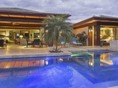 Photo for Ocean & mountain view, Private home, Pool, Tropical luxury, Champion Ridge Home