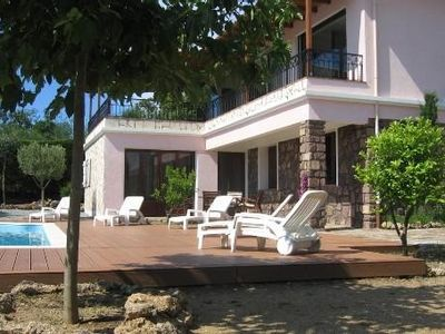 Photo for 6 persons Villa sea view with swimming pool 10x4 quiet and residential