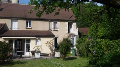 Photo for Charming house in a listed village halfway between VEZELAY and PUISAYE