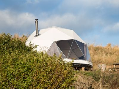 Photo for A glamping dome that sleeps 4 guests  in 0 bedrooms