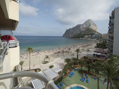Photo for TR-16B Apartment on the first line of the Levante beach in Calpe