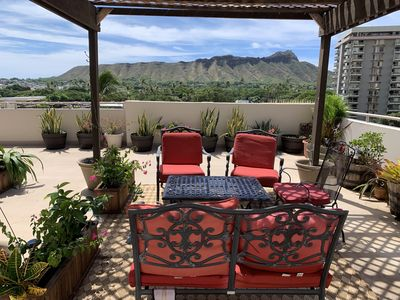 Photo for Huge, private lanai with panoramic view of Diamondhead