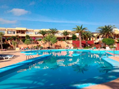 Photo for Beautiful apartment to 300 meters away from the beach with pool, WIFI, satellite TV.