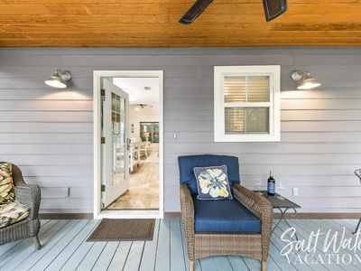 Photo for Modern, Spacious, Inviting Cottage w/ Sunroom