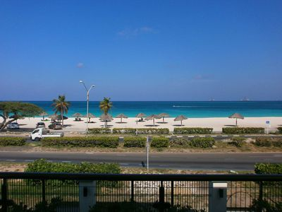 Photo for BEACHFRONT - EAGLE BEACH - ADULTS-ONLY - OCEANIA RESORT - Majestic View 3BR condo - E221
