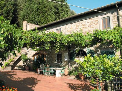 Photo for Vacation home Podere Filicaia  in Strada in Chianti (FI), Florence and surroundings - 8 persons, 4 bedrooms