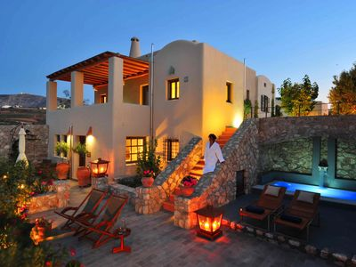 Photo for Luxury Architect Designed Cycladic House
