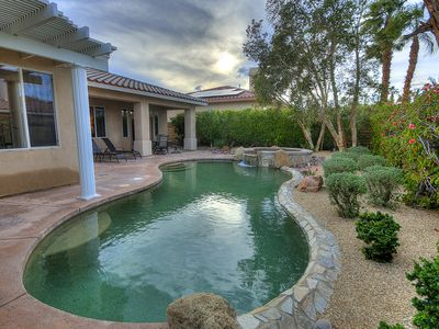 Photo for Beautiful Private Pool Home in Palm Desert