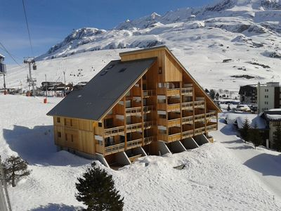 Photo for Apartment Hautes benefits 120 m2 on the slopes full center station