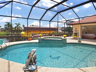 Photo for 34% OFF! -SWFL Rentals - Villa Mylee - Spacious Gulf Access Pool Home Sleeps 6