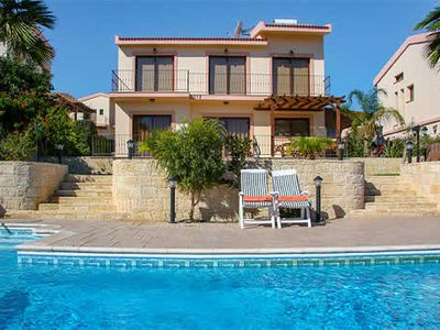 Photo for Located within a prime location, villa Uranus is perfectly situated just a short walk away from the traditional Cypriot village square, while the stunning beach at Pissouri bay is just a few minutes drive by car.