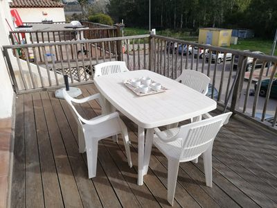 Photo for Holiday Apartment Tamarici Case Vacanza Giulia with Sea View & Terrace; Parking Available, Pets Allowed