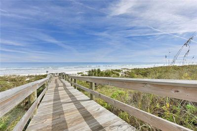 This is the Florida beach you've dreamed of - Imagine kicking off your shoes and stepping out on the white sands of Crescent Beach. Feel the warmth of the sand, listen to the gentle surf, and feel the soft winds wrap around you.