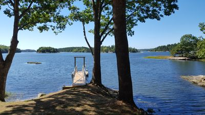 Photo for Newly Built Pet Friendly Secluded Waterfront Home w/ Private Dock & Amazing View