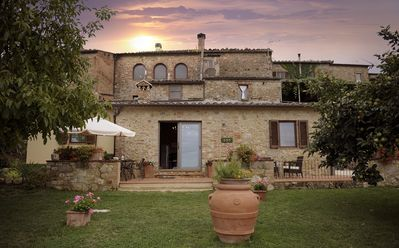 Photo for Panoramic and Charming Villa with Private  Garden in Tuscany
