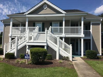 Photo for True Blue Golf Course condo - minutes to the beach