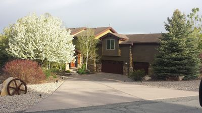 Photo for Newer Park City 4 Bedrooms  3.5  baths sleeps 12 or more, Minutes to ski resor