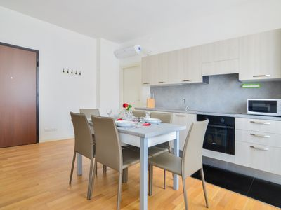 Photo for One-bdr. apartment in Milan in a residential building with elevator
