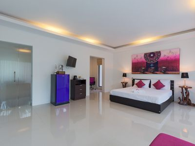 Photo for Violet Room - Superior Room with Garden and Pool Access