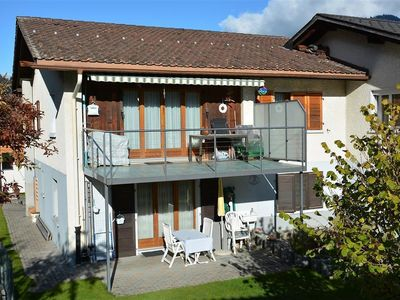 Photo for Nice apartment for 4 people with WIFI, TV, balcony, pets allowed and parking