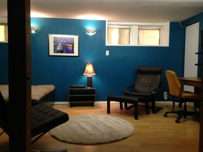 Photo for Bright Bachelor Basement Suite In Trendy Inglewood, Calgary