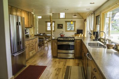 Large kitchen for all your culinary needs