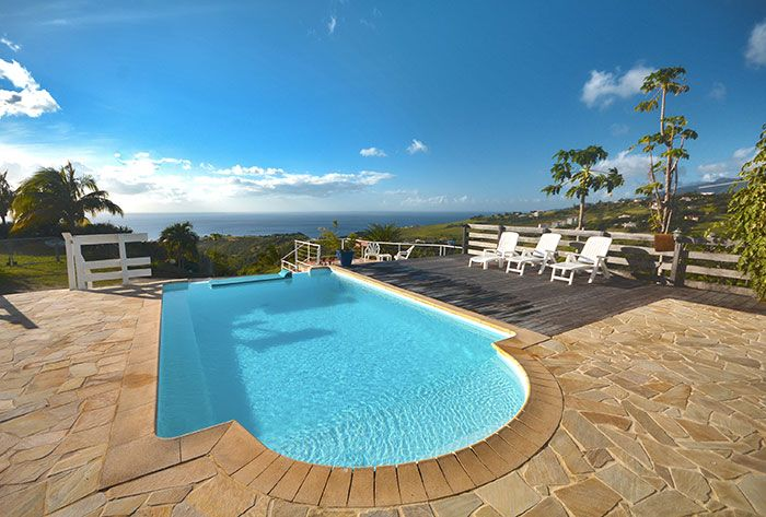Affordable Location Vacances Villa Le Carbet Piscine Vue Mer Villa Bel Case  With Location De Maison En Martinique.