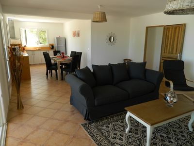 Photo for Holiday house with heated pool and garage in South Ardèche