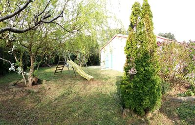 Photo for HOUSE VILLA PIETRACORBARA WITH LARGE GARDEN SHADOW NEAR THE BEACH IN QUIET