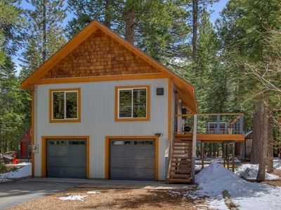 Photo for Modern West Shore Chalet - Walk to the Beach