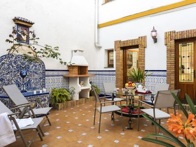 Photo for Amazing house in Barrio Santa Cruz. Private yard