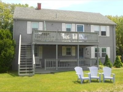 Photo for Classic Cape cottage with unbeatable ocean views and just steps from the beach!